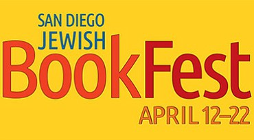 A poster for the San Diego Jewish BookFest, courtesy of C...