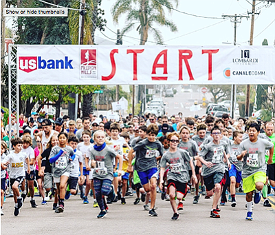 Photo from last year's 5K. Courtesy of the Mission Hills 5K.