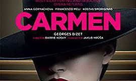 "A promotional poster for ""Carmen,"" courtesy of Landmark T..."