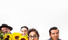 Promo graphic for La Santa Cecilia