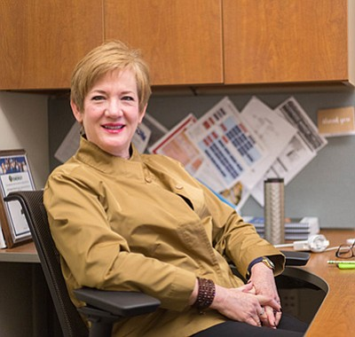 Photo of Mary McKay, the course leader. Courtesy of the U...