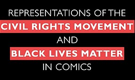 """Promotional graphic for the """"Representations of the Civil Rights Movement and..."""