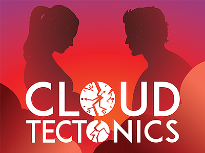 "A promotional poster for ""Cloud Tectonics,"" courtesy of NVA."