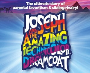 "A promotional poster for ""Joseph and the Amazing Technico..."