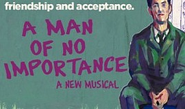 """A promotional poster for """"A Man of No Importance,"""" courte..."""