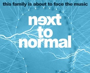 "A promotional poster for ""Next to Normal,"" courtesy of Co..."