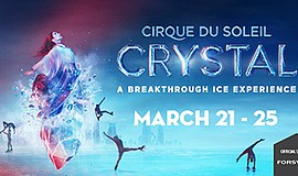 "Promotional graphic for ""Crystal - A Breakthrough Ice Exp..."