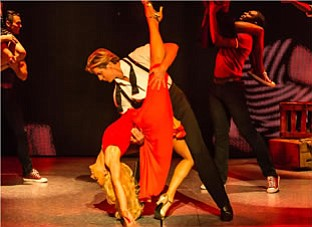 """A photo from """"Dirty Dancing,"""" courtesy of Broadway San Di..."""