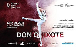 Promo graphic for The National Ballet Of Ukraine Presen...
