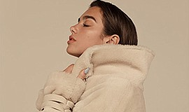 A promotional photo of Dua Lipa, courtesy of SDSU.