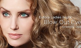 Promo graphic for Eufora Ladies Night- Blow Outs For A ...