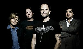 Promotional photo of the band, Gin Blossoms. Courtesy of ...