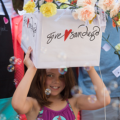 Photo from a previous Give Love event. Courtesy of The Ol...