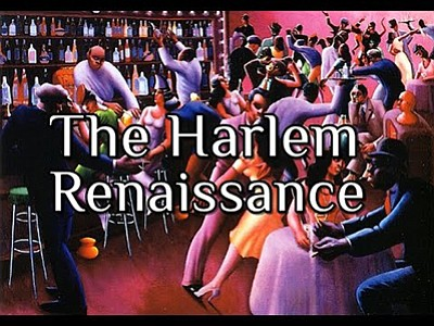 Promotional graphic for the Harlem Renaissance discussion...