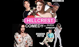 Promo graphic for Hillcrest Comedy Night With Jaleesa J...