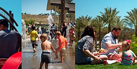 Photos of Civita Park activities. Courtesy of Civita Life.