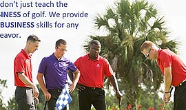 Promo graphic for Explore Your Career In Golf: Golf Aca...