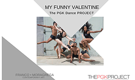 "Promo graphic for PGK Presents ""My Funny Valentine"""
