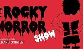 Promo graphic for Richard O'Brien's 'The Rocky Horror S...
