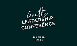 Promo graphic for The Gritty Leadership Conference