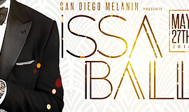 Promo graphic for Issa Ball