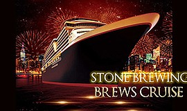 Promo graphic for Stone Brews Cruise