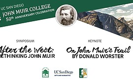 Promo graphic for John Muir Symposium & Keynote Present...