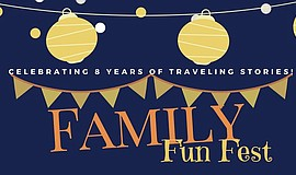 Promo graphic for Family Fun Fest