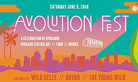Promotional graphic for the Avolution Fest. Courtesy of C...