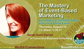 Promo graphic for The Mastery Of Event-Based Marketing