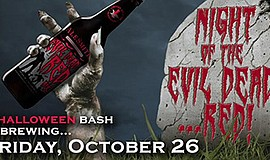 Promotional graphic for the Halloween bash. Courtesy of A...