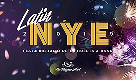 Promotional graphic for the Latin New Year's Eve. Courtes...
