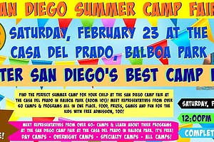 Promotional graphic courtesy of the San Diego Camp Fair.