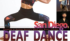Promo graphic for The First San Diego Deaf Dance Festival