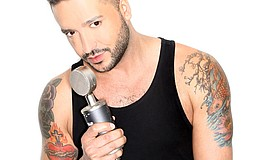 Promo graphic for Jai Rodriguez In 'Loose Lips'