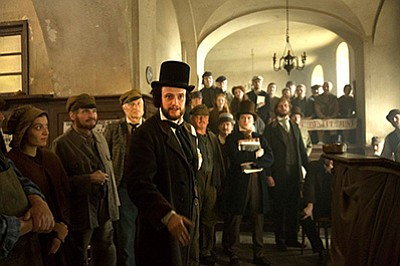 "Film still from ""The Young Karl Marx."" Courtesy of Raoul ..."