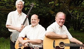 Promo graphic for Kingston Trio Returns To Coronado