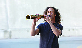 Photo of the featured performer. Courtesy of Kenny G.