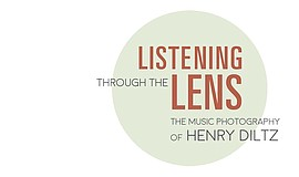 Promo graphic for Listening Through The Lens: The Music...