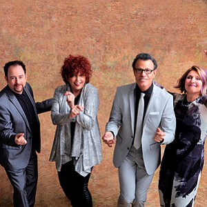 A promotional photo of The Manhattan Transfer, courtesy o...