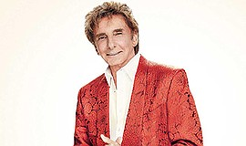 A photo of musician Barry Manilow, courtesy of SDSU.