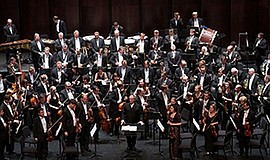 A photo of the Mariinsky Orchestra, courtesy of San Diego...