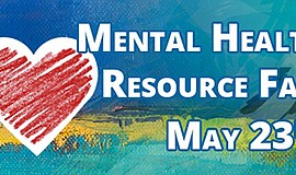 Promo graphic for Mental Health Resource Fair