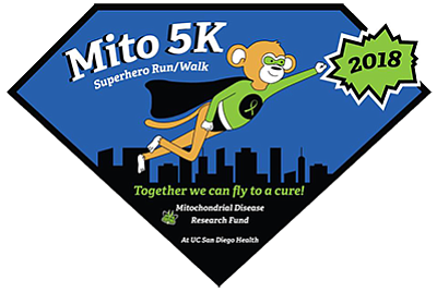 Promotional graphic for the 5K. Courtesy of the Mitochond...