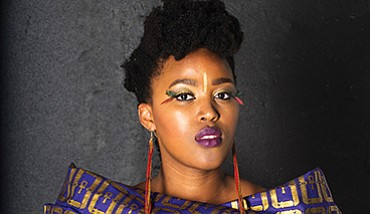 A photo of musician Msaki, courtesy of ArtPower.