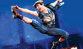 Promo graphic for 'Newsies' At Moonlight Amphitheatre
