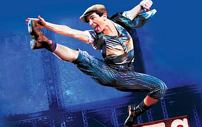 "A promotional poster for ""Newsies,"" courtesy of Moonlight..."