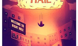 A promotional poster for Welcome to Night Vale, courtesy ...