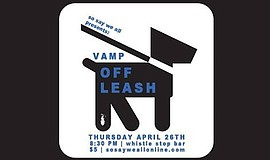A promotional poster for VAMP's Off Leash, courtesy of So...