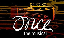 Promo graphic for 'Once, The Musical' At Lamb's